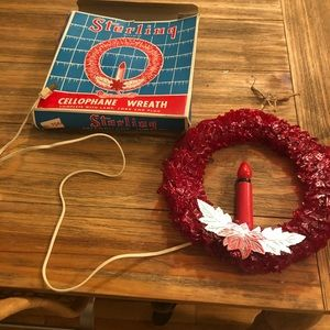 Cellophane Wreath by Sterling